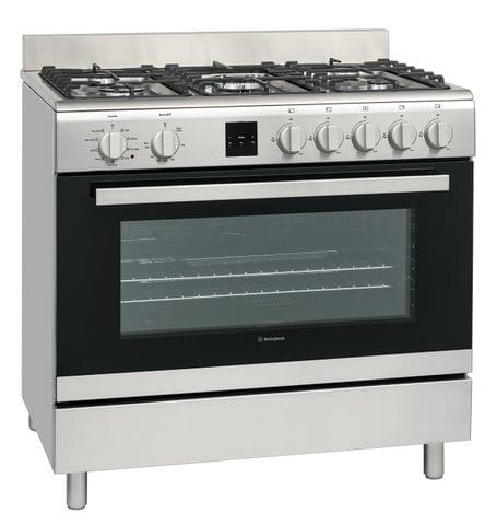 WESTINGHOUSE 90cm Freestanding Multifuel Cooker FF (WFE911SB)