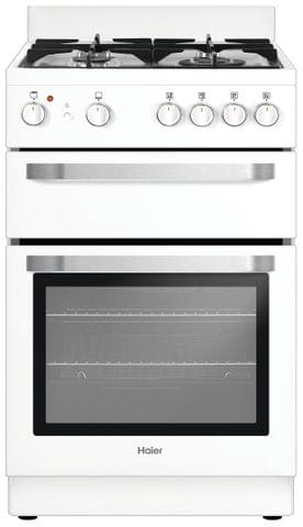 HAIER 54cm Freestanding Natural Gas Cooker White