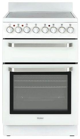 HAIER 54cm Freestanding Electric Cooktop - White (HOR54B7MSW1)