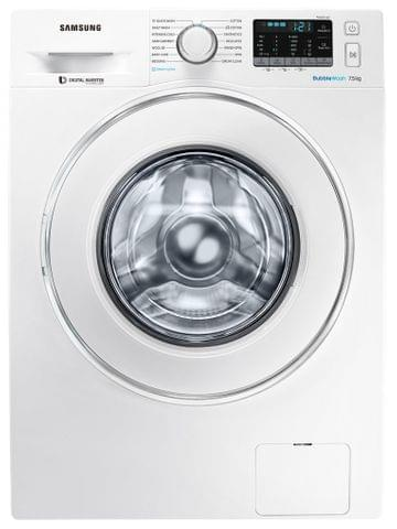 SAMSUNG 7.5Kg Front Load Washer with Steam (WW75J54E0IW)