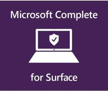 Microsoft������ Complete for Bus 1YR on 2YR Mfg Wty SC Warranty a Australia 1 License AUD Surface Book