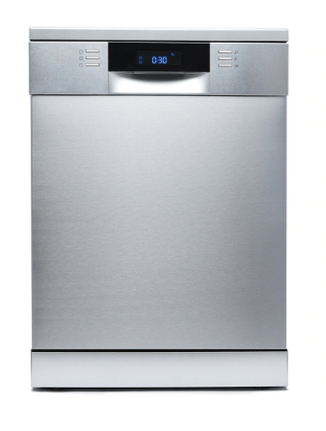 DeLonghi 60cm Freestanding Dishwasher 5 Star WELS S/S