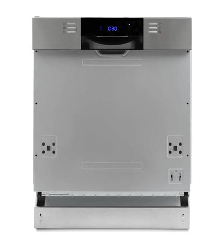 DeLonghi 60cm Semi Integrated Dishwasher 5 Star WELS S/S