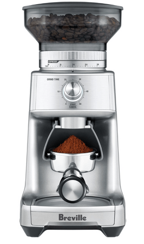 Breville the Dose Control Pro Coffee Grinder in Silver