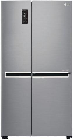LG 680 Litre Side by Side Refrigerator - Shiny Steel
