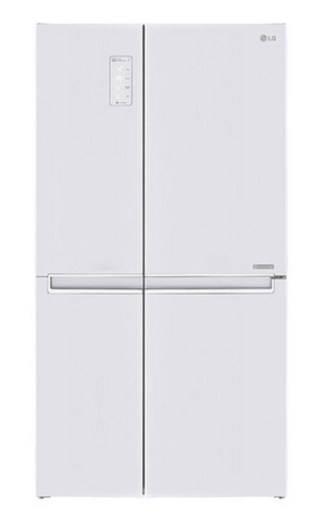 LG 687L Side by Side Fridge with Linear Compressor