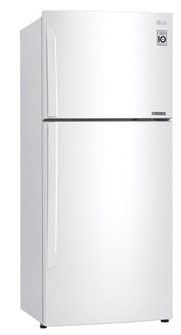 LG 441L Top Mount Refrigerator - White RHH