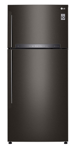 LG 516L Top Mount Refrigerator - Black RHH