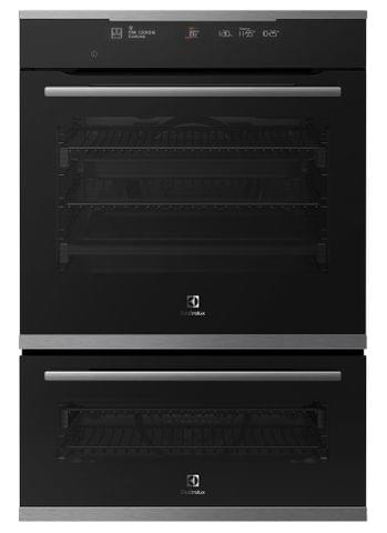 Electrolux 60cm Pyrolytic Duo Oven 13/7 Func+Steam S/S