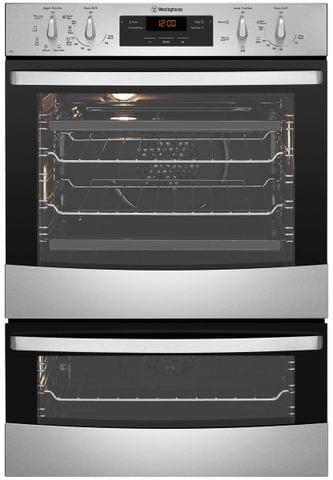 Westinghouse 60cm Multiunction Duo Oven Rotary Control Touch Tim