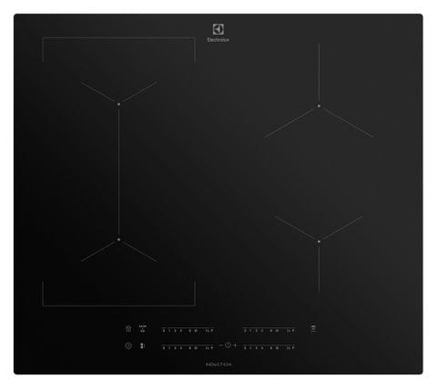 Electrolux 60cm Induction Cooktop 4 Zone black