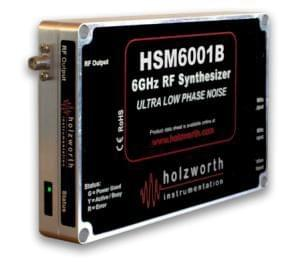 Single Channel HSM Series RF Synthesizers Modules
