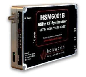 Single channel HSM1001A series RF Synthesizers