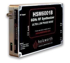 Single channel HSM3001A series RF Synthesizers