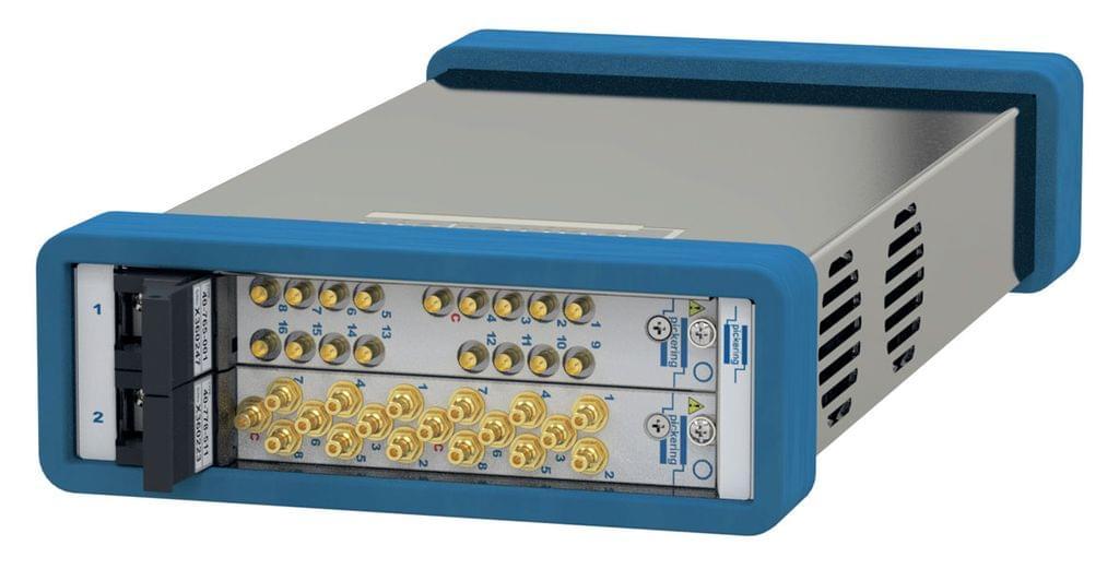 60-104-001 2-Slot USB/LXI Modular Chassis