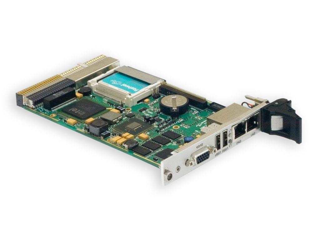 CPC508  3U Compact PCI Intel Atom based CPU board