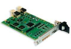VIM554 3U CPCI Audio / Video Input Module