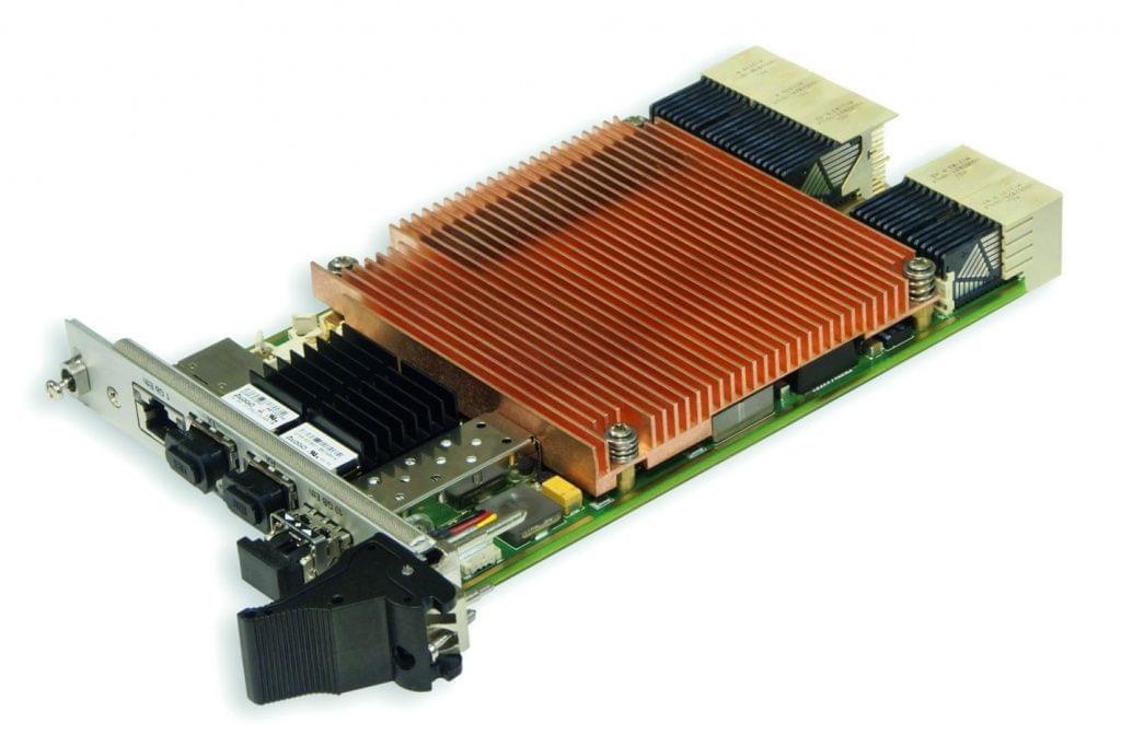 KIC551  3U CompactPCI S.0 PCIe/GB Ethernet Switchboard