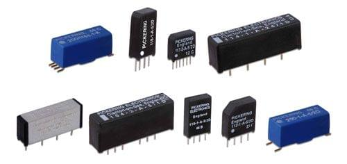 Reed Relays from Pickering Electronics