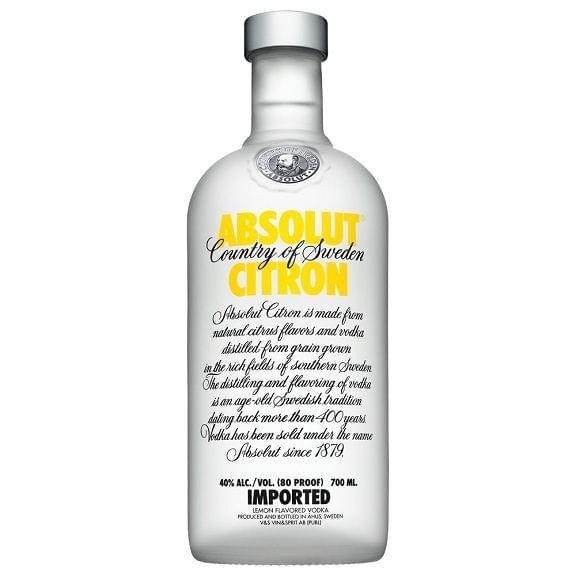 Absolut Citron 1 Litre