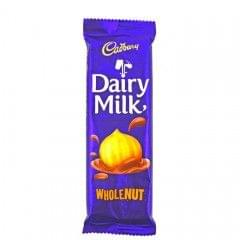 Cadbury Wholenut Dairy Milk Chocolate 80g