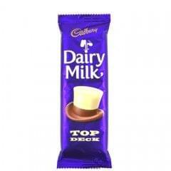 Cadbury Top Deck Dairy Milk Chocolate 80g
