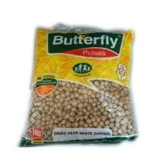 Butterfly Green Peas Dried White 1kg