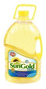 Sun Gold Sunflower Cooking Oil 5L