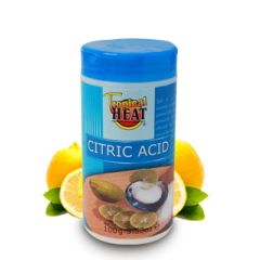 Tropical Heat Citric Acid Pure Ground 100g