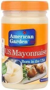 American Garden Mayonnaise 237ml