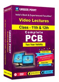 PCB (11th+12th) for 2 Yrs Video Lectures NEET | AIIMS(Mixed Language-E/H)