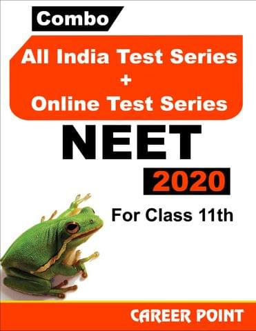 Combo: All India Test Series + Online Test Series NEET 2020 For 11th Class