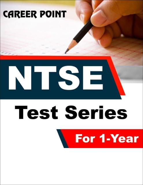 NTSE Test Series for  1 Year