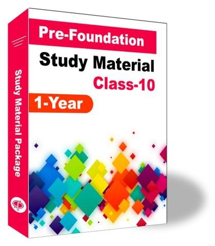 Pre-Foundation Basic & NTSE Study Material for Class 10th(1 Year)
