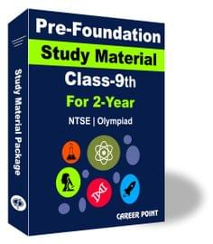 Pre-Foundation Basic & NTSE Study Material For Class 9th (2 Year)