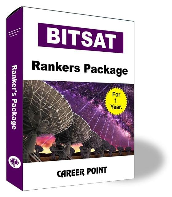 BITSAT Rankers Package for 1 Year