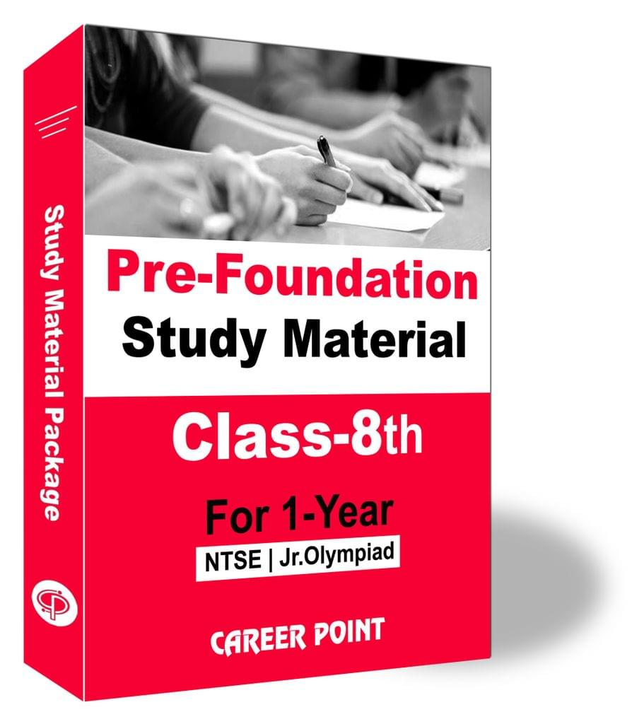 Pre-Foundation Study Material for Class 8th(1 Year)