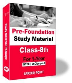 Pre-Foundation Study Material For Class 8th (1 Year)