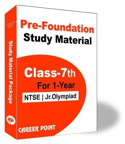 Pre-Foundation Study Material for Class 7th(1 Year)