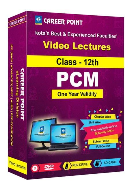 Class 12th PCM (1 Yrs)Video Lectures for JEE (Main/Advance) in Mixed Language(E/H)
