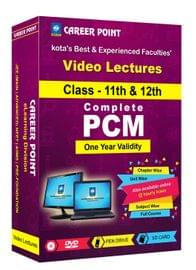 PCM (11th+12th) for 1 Yr Video Lectures JEE Mains | Adv(Mixed Language-E/H)