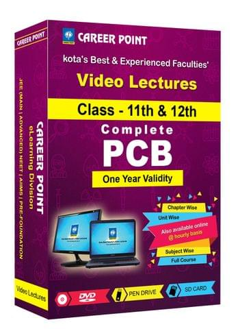 Complete PCB (1 Yr) Video Lectures for NEET | AIIMS in Mixed Language(E/H) for Class 11th+12th