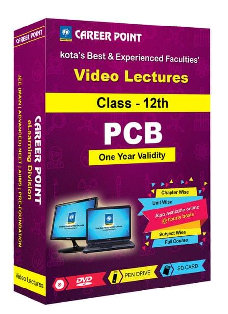 Class-12th PCB for 1 yr Video Lectures NEET | AIIMS(Mixed Language-E/H)