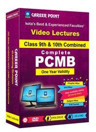 Class-9 & 10 PCMB for 1 yr Video Lecture NTSE | Olympiad(Mixed Language-E/H)