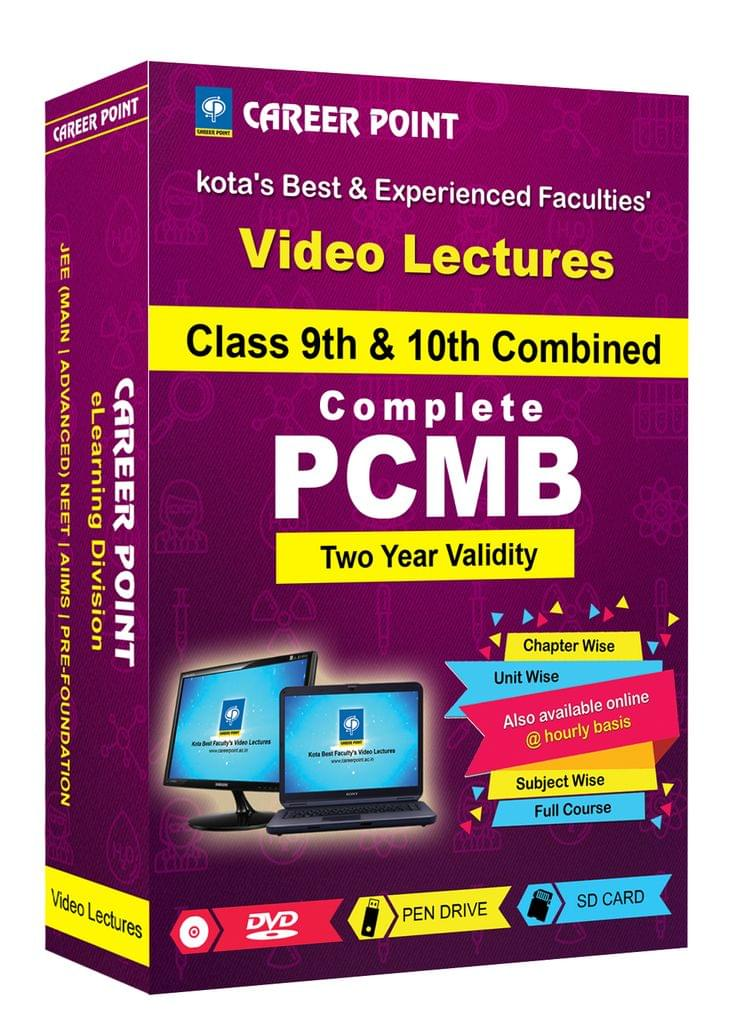 Video Lecture for NTSE |  Validity: 2 yrs | Covers: PCMB Class 9 & 10 | Medium: Mixed Language (E&H)