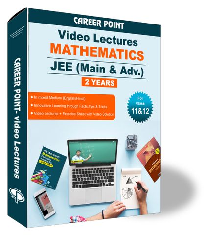 Mathematics Video Lectures (11th+12th) | JEE Main & Advanced  | Validity 2 Yrs | Medium : Mixed Language (E & H)