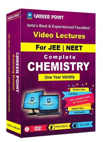 Chemistry (11+12th) for 1 Yr Video Lectures JEE & NEET(Mixed Language-E/H)