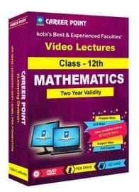 Class-12 Maths for(2 Yrs) Video Lectures for JEE (Main/Advance) in Mixed Language(E/H) By Career Point Kota