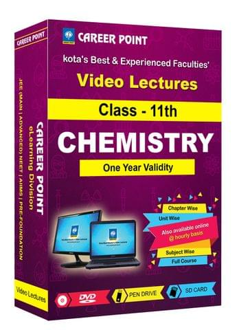Class 11th Chemistry for 1 Yr Video Lectures for JEE & NEET (Mixed Language-E/H)
