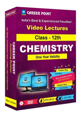 Class 12th Chemistry for 1 Yr Video Lectures for JEE & NEET (Mixed Language-E/H)